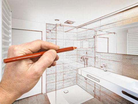 Conception de plan de travail de salle de bains avec Netovia